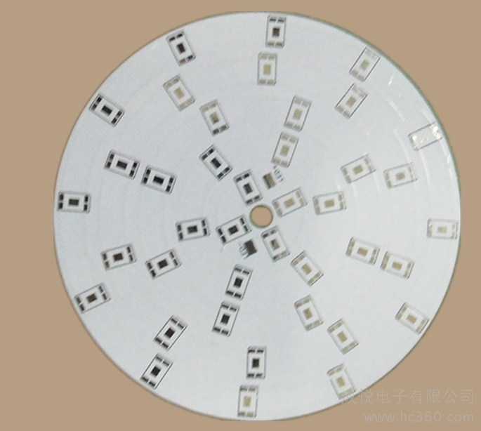 MCPCB for round LED lighting